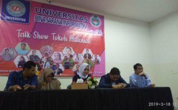 Talkshow Tokoh Milenial