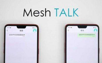 Sistem Komunikasi Mesh Talk