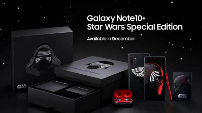 Galaxy Note 10+ Star Wars Edition.