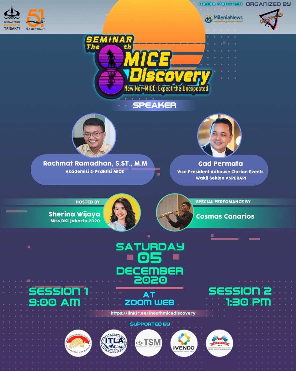 Mahasiswa STP Trisaksia Gelar The 8th MICE Discovery 2020