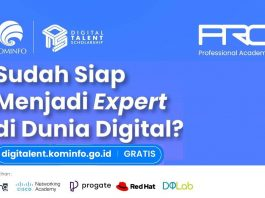 Kominfo Kembali Buka Pelatihan Digital Talent Scholarship