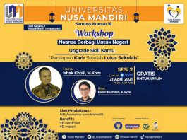 Universitas Nusa Mandiri Gelar Workshop di Bulan Ramadan