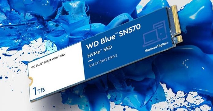 WD Luncurkan WD Blue SN570 Khusus Content Creator